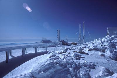 Mt. Washington summit Feb 1984